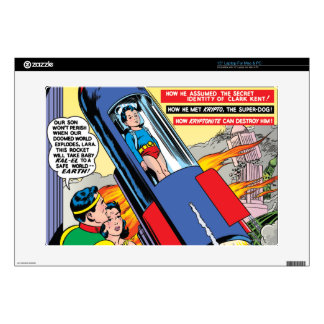 """Superman #146 decal for 15"""" laptop"""
