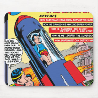 Superman #146 mouse pad