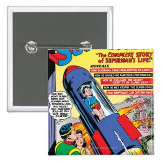 Superman #146 pinback button