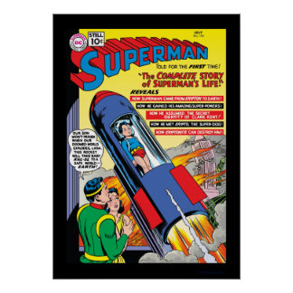 Superman #146 poster