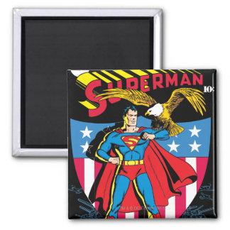 Superman #14 2 inch square magnet