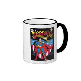 Superman #14 ringer mug
