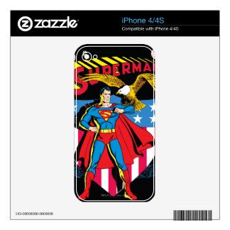Superman #14 skin for the iPhone 4S