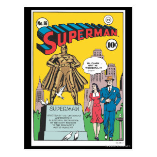 Superman 16 post cards