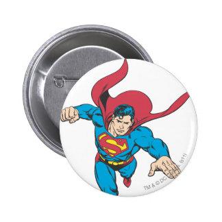 Superman 19 2 inch round button