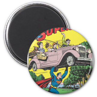 Superman #19 2 inch round magnet