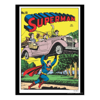 Superman 19 post cards