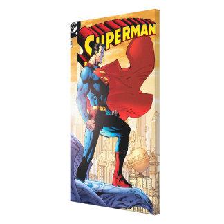 Superman #204 June 04 Canvas Print