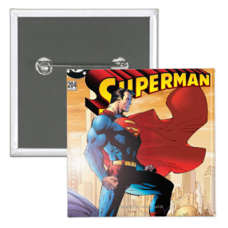 Superman #204 June 04 Pinback Button