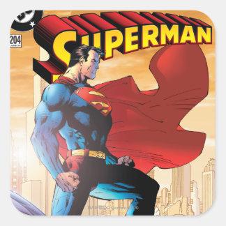 Superman #204 June 04 Square Sticker