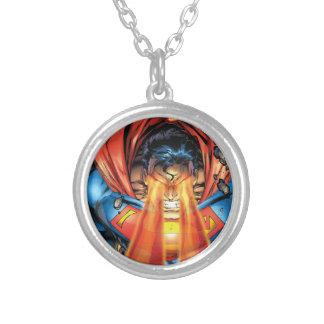Superman #218 Aug 05 Round Pendant Necklace