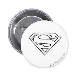 Superman 24 2 inch round button