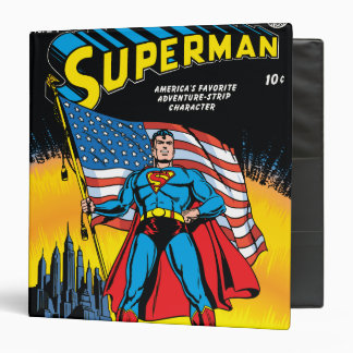 Superman #24 3 ring binder