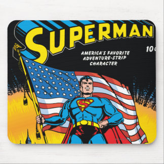 Superman #24 mouse pad