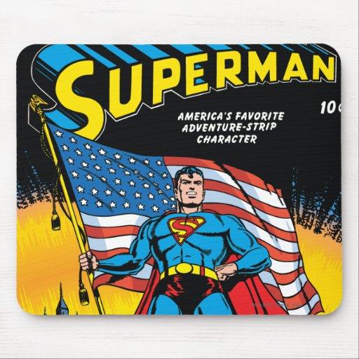 Superman #24 mouse pad