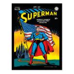 Superman #24 postcard