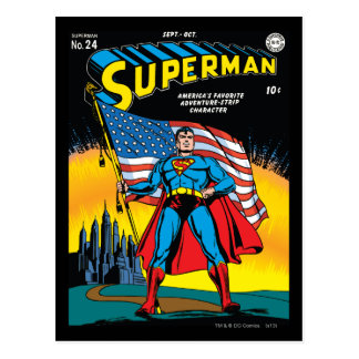 Superman #24 postcard