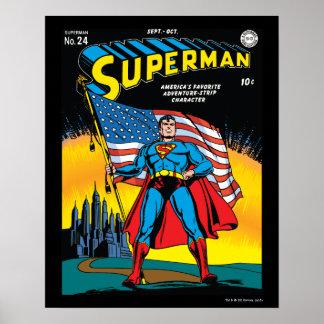 Superman #24 poster