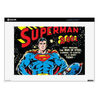 """Superman #300 decals for 15"""" laptops"""