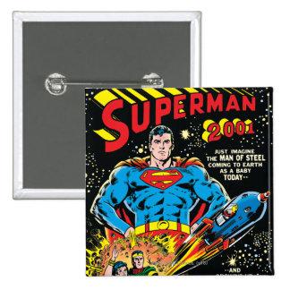 Superman #300 pinback button