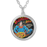 Superman #300 silver plated necklace