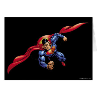 Superman 31 greeting card