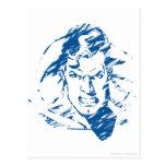 Superman 35 postcard
