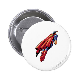 Superman 36 pinback button