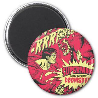 Superman 38 2 inch round magnet
