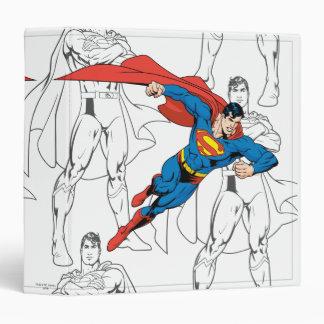 Superman 3 Ring Binders