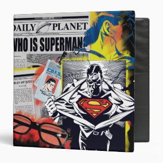 Superman 41 3 ring binder