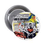 Superman 41 pinback buttons