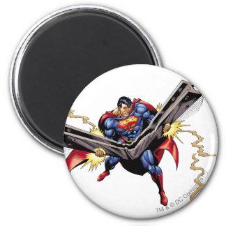 Superman 42 2 inch round magnet