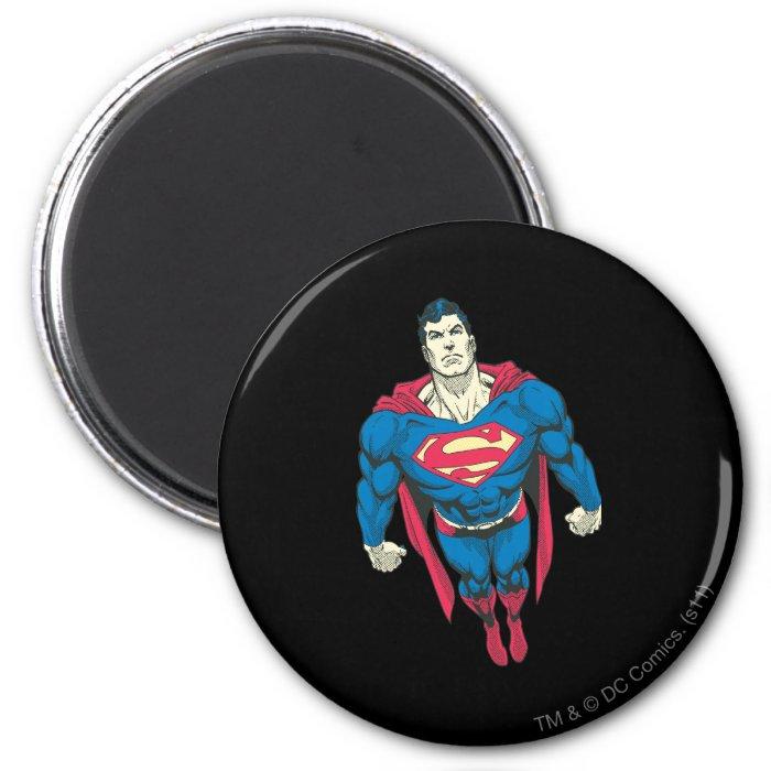 Superman 45 2 inch round magnet