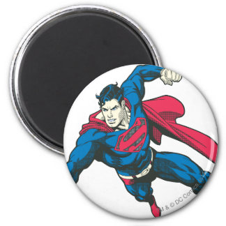 Superman 4 2 inch round magnet