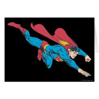 Superman 50 greeting card