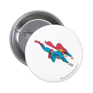 Superman 50 pinback button