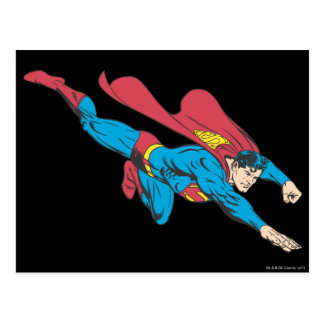 Superman 50 postcard