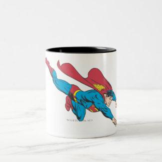 Superman 50 Two-Tone coffee mug