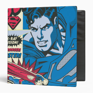 Superman 51 vinyl binder
