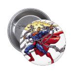 Superman 52 2 inch round button