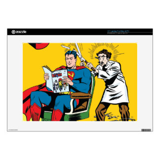 Superman #52 decal for laptop