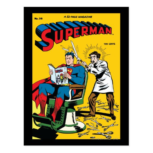 Superman #52 post cards