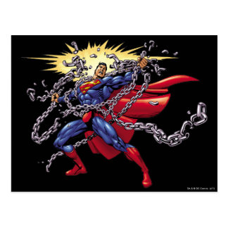Superman 52 postcard