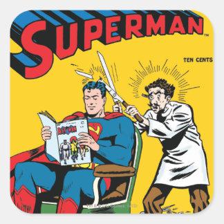 Superman #52 square sticker