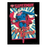 Superman 56 postcard