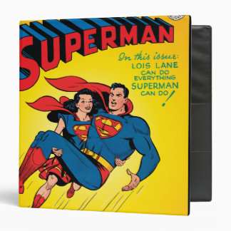 Superman #57 3 ring binder