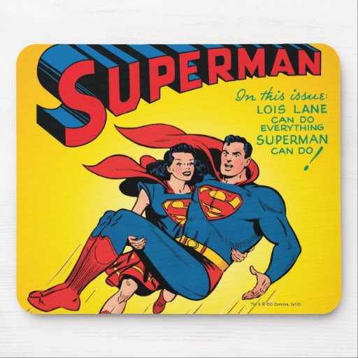 Superman #57 mouse pads