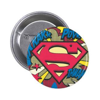Superman 66 2 inch round button