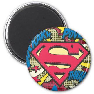 Superman 66 2 inch round magnet